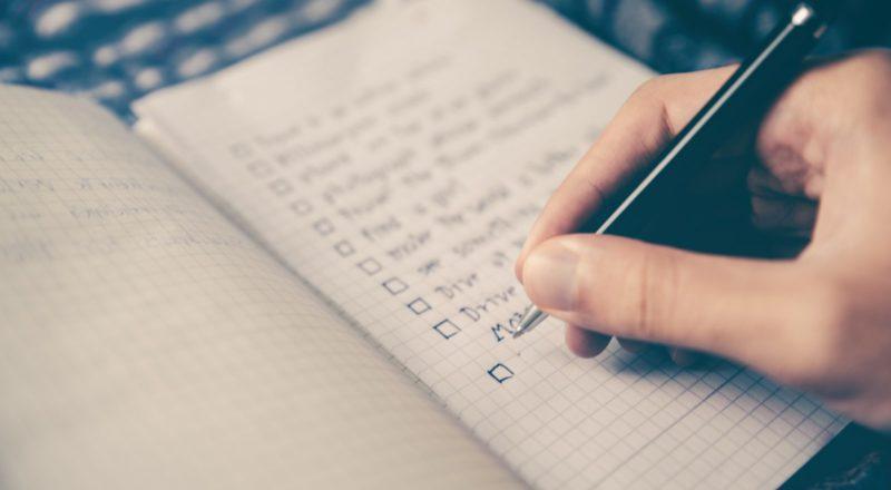 evenementenplanning checklist