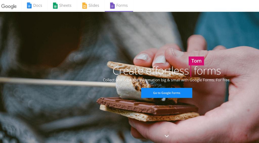 Enquête-tools voor evenementen: Google Forms