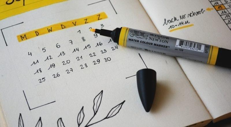 evenementenplanning sjabloon