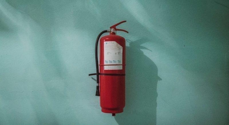 Gezondheid en veiligheid voor evenementen: Zorg dat je een brandblusser bij de hand hebt