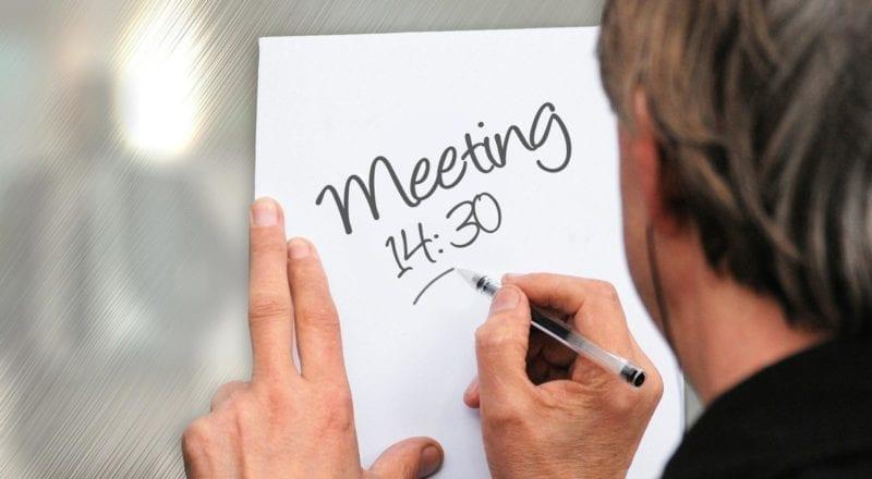 Conferentie agenda