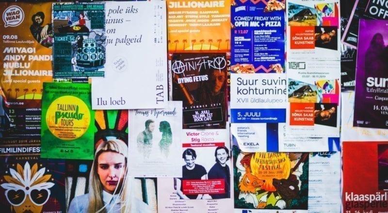 marketing flyers voor evenementen